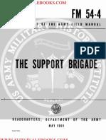 1969 US Army Vietnam War the Support Brigade 112p