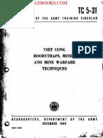 1969 US Army Vietnam War Viet Nam Viet Cong Booby Traps 95p