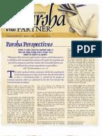 Parsha Patners Ki Tetze 2009