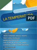 La Temperatura Climatologia