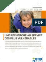 Recherche Vulnerables ACF-In FR
