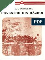 Mihail Sadoveanu Povestiri Din Razboi