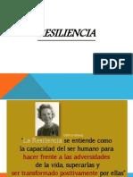 PSIC. COMUNITARIA Resiliencia