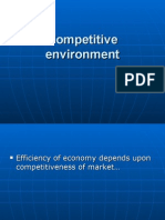 Competitive Environment