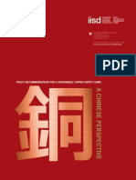 Policy Recommendations China Copper En