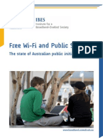 Free Wi Fi and Public Space