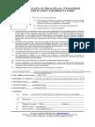 Job Application Form Word