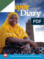 Jan Mar 2014 Prayer Diary
