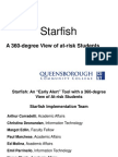 Starfish - An Early Alert Tool With a 360-Degree View of at-Risk Students