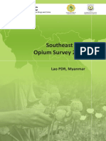 United Nations Office on Drugs and Crime. Opium Survey 2013