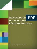 Manual de Sessão dos servidores publicos estaduais