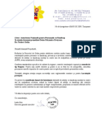 Adresa ANPH - Observatii Proiect de Ordin 2009