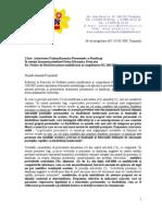 Adresa ANPH - Propuneri Modificare Norme 2009