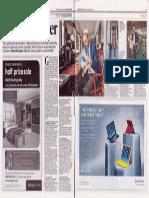 Evening Standard, The Gateleaper, Dec 19, 2013, Nimrod Kamer