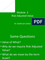 Management of Risk Module 3
