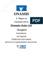Onassis Report