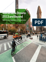 Sustainable Streets- 2013 and Beyond (NYC DOT)