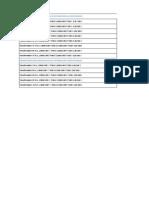 ALCANCE de Listado de Precios Unitarios Materiales y Mano de Obra 2013-2014