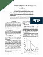 Mark-Houwink-Sakurada Equation for the Viscosity of Linear PE
