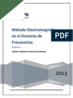 Método Electromagnético En El Dominio De Las Frecuencias