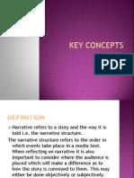 Key Concepts - Narrative