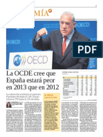 OCDE Perspectivas noviembre 2012