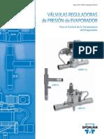 Valvula Reguladoras de Presion Del Evaporador