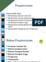 bahasa pengaturcaraan