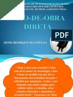 3 - MÃO-DE-OBRA DIRETA