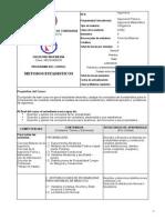 CI402 - Métodos Estadísticos