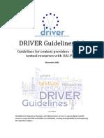 DRIVER Guidelines v2 Final 2008-12-02