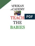 #TeachTheBabies