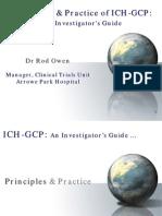 ICH GCP History