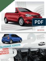 Ficha Técnica Toyota Etios