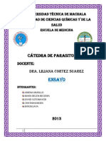 Ensayo de Parasitologia, Trypanosoma Cruzi