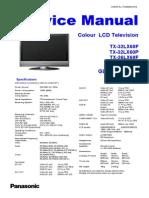 Panasonic Glp21 Chassis TX-32lx60f 32lx60p 26lx60f 26lx60p Sm