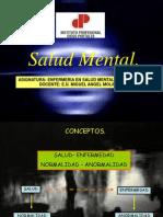 Salud Mental (Conceptos y Minsal)
