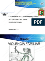 Violencia Familiar Analisis