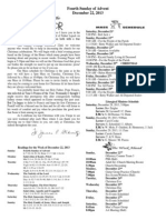 December 22, 2013 Bulletin
