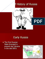 Brief History of Russia PowerPoint