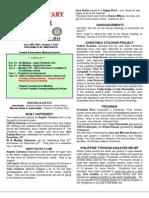 Moraga Rotary Newsletter- Dec 17, 2013