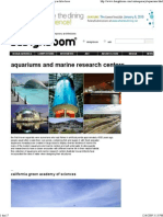 Aquariums and Marine Research Centers