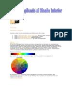 El Color aplicado al Diseño Interior-TEMARIOS Y VIDEOS-