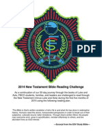 2014 NT Bible Reading Challenge