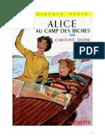 Caroline Quine Alice Roy 03 BV Alice Au Camp Des Biches 1930