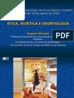 Ética, Bioética e Deontologia