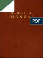 Societas Rosicruciana in America Manualy G-W-Plummer