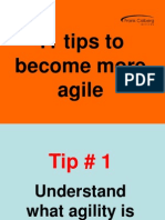 Tips to Become Agile`