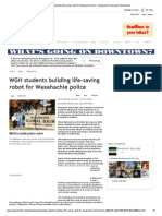 wgh students building life-saving robot for waxahachie police - waxahachie daily light  waxahachie