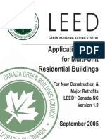LEED CANADA_NC_1_Application Guide for Multi_Unit Residential Buildings